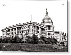 United States Capitol Senate Wing Acrylic Print by Olivier Le Queinec