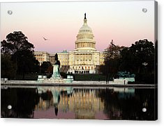 United States Capitol Washington Dc Acrylic Print