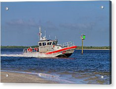 United States Coast Guard Acrylic Print