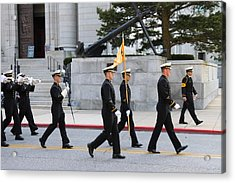 United States Naval Academy In Annapolis Md - 121244 Acrylic Print by DC Photographer