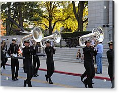 United States Naval Academy In Annapolis Md - 121246 Acrylic Print by DC Photographer