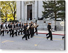 United States Naval Academy In Annapolis Md - 121248 Acrylic Print by DC Photographer