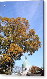 United States Naval Academy In Annapolis Md - 121255 Acrylic Print by DC Photographer
