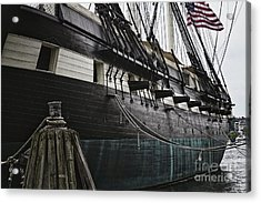 United States Ship Constellation Acrylic Print by George Oze