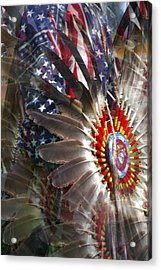 United We Stand Acrylic Print by Randy Pollard