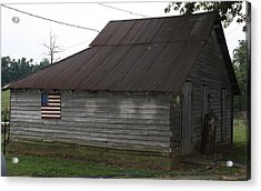 United We Stand  Acrylic Print by Terry Scrivner