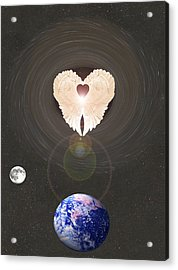 Acrylic Print featuring the photograph Universal Angel by Eric Kempson