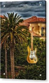 Universal Guitar Acrylic Print