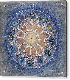 Universal Tree Of Life Acrylic Print