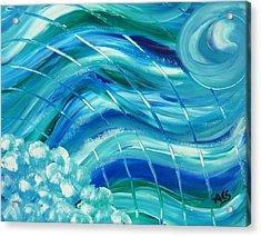 Universal Waves Acrylic Print