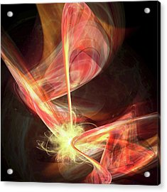 Universe Creation By Brane Collision Acrylic Print