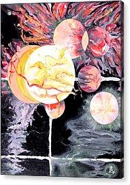 Universe Acrylic Print by Daniel Janda