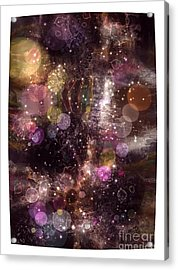 Universe Acrylic Print by Victor Arriaga