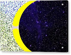 Universes Seeking Equilibrium Acrylic Print by Bruce Iorio