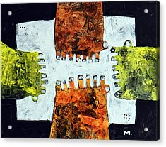Universi No. 10  Acrylic Print by Mark M  Mellon
