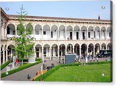 Universita' Statale Di Milano Acrylic Print by Valentino Visentini