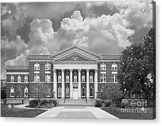 University At Albany Draper Hall Acrylic Print by University Icons