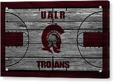 University Of Arkansas At Little Rock Trojans Acrylic Print