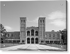 University Of California Los Angeles Royce Hall Acrylic Print by University Icons