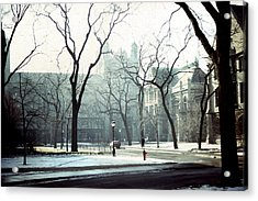 University Of Chicago 1976 Acrylic Print by Joseph Duba