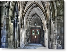 University Of Chicago Acrylic Print by David Bearden