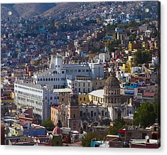 University Of Guanajuato Acrylic Print by Douglas J Fisher