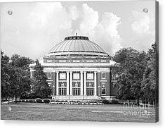 University Of Illinois Foellinger Auditorium Acrylic Print by University Icons