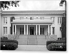 University Of La Verne Miller Hall Acrylic Print by University Icons