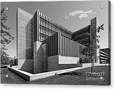 University Of Michigan Ross School Of Business Acrylic Print by University Icons