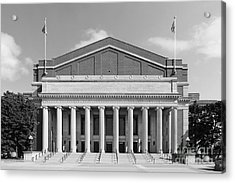 University Of Minnesota Northrop Auditorium Acrylic Print by University Icons