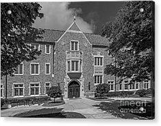 University Of Notre Dame Coleman- Morse Center Acrylic Print by University Icons