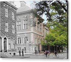 University Of Pennsylvania Law Department Acrylic Print