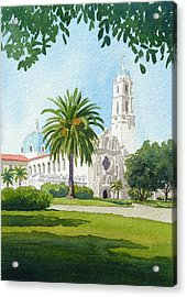 University Of San Diego Acrylic Print by Mary Helmreich