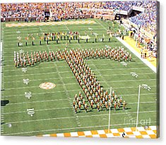 University Of Tennessee Band T  Acrylic Print