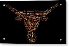 University Of Texas Acrylic Print by Linda Brown