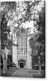 University Of The Pacific - Knoles Hall Acrylic Print by University Icons