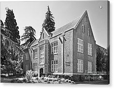 University Of The Pacific - Eberhardt School Of Business Acrylic Print by University Icons