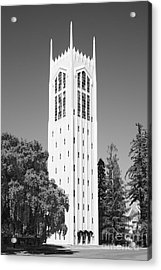 University Of The Pacific Burns Tower Acrylic Print by University Icons
