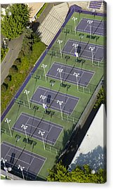 University Of Washington Tennis Courts Acrylic Print