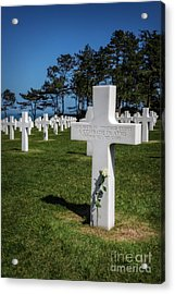 Unknown American Soldier Acrylic Print by Tamson