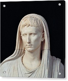 Unknown Artist, Statue Of Augustus Acrylic Print by Everett