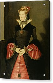 Unknown Lady From The Court Of King Acrylic Print