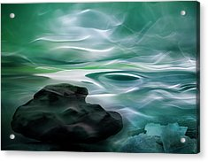 Unknown Waters Acrylic Print by Willy Marthinussen