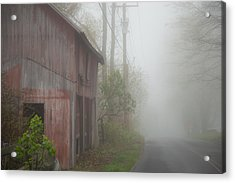 Unknown Where The Road Will Take You Acrylic Print by Karol Livote
