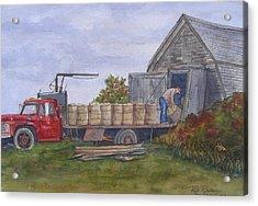 Unloading At The Potato House Acrylic Print