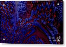 Acrylic Print featuring the digital art Unpolluted Ecosystem by Steed Edwards