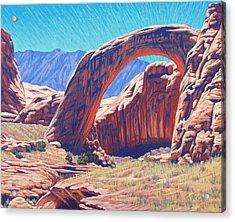 Unseen Artist Acrylic Print