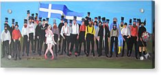 Unst Mail Voice Choir World Tour Acrylic Print