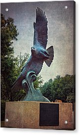 Unt Eagle In High Places Acrylic Print
