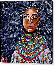 Untamed Beauty  Acrylic Print